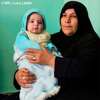 Swiss Red Cross Help for Syrian Refugees