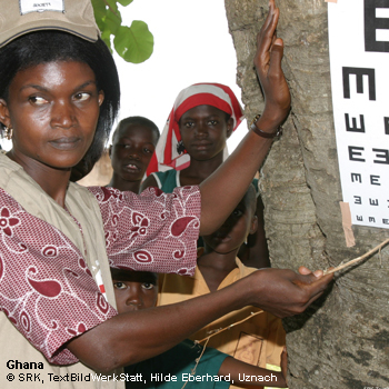 Schweizerisches Rotes Kreuz - Augenlicht schenken