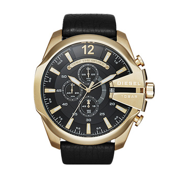 Diesel CHIEF Gents Chronograph with Leather Strap