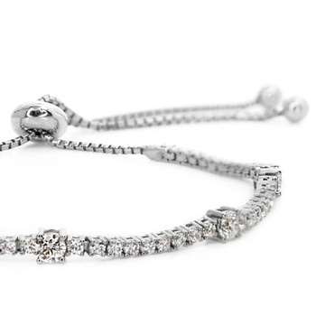 CARAT* London Phoebe One Row Slider Bracelet