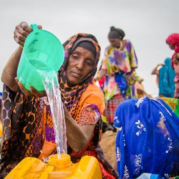 Glückskette Klimakatastrophe Afrika