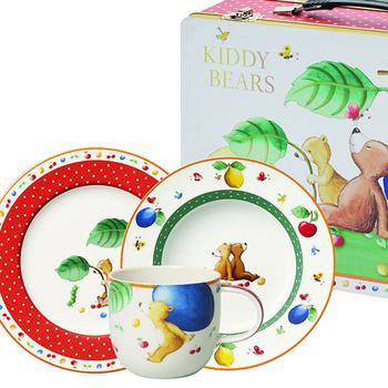 Villeroy & Boch KIDDY BEARS Kindergeschirr-Set M
