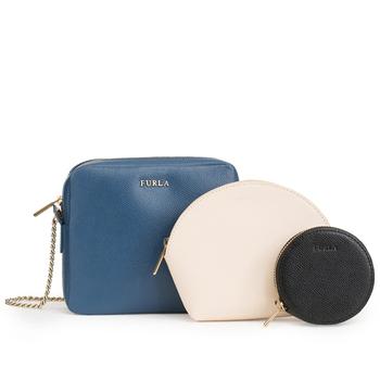 Furla PRIMAVERA Mini Crossbody-Tasche mit Etuis