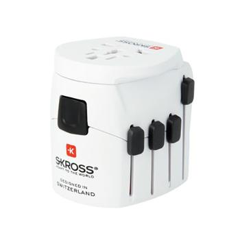 SKROSS World Adapter PRO - World & USB