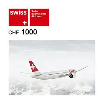 SWISS Flight voucher CHF1000