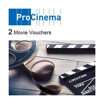 ProCinema - 2 Kinogutscheine