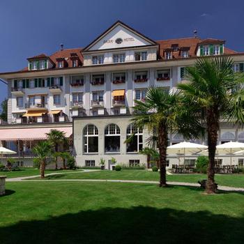 Hotel Übernachtung am Thunersee für 2