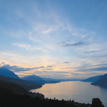 Wunderbarer Tag am Thunersee