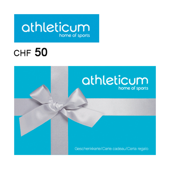 athleticum Gift ca'rd CHF50