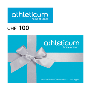 athleticum Gift card CHF100