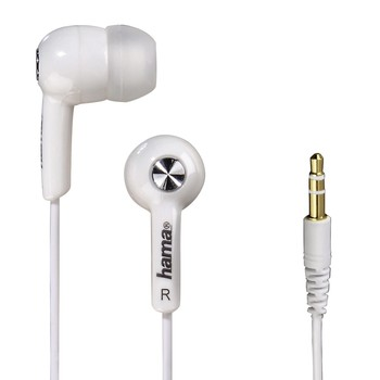 Hama Joy+ earphones white (122659)